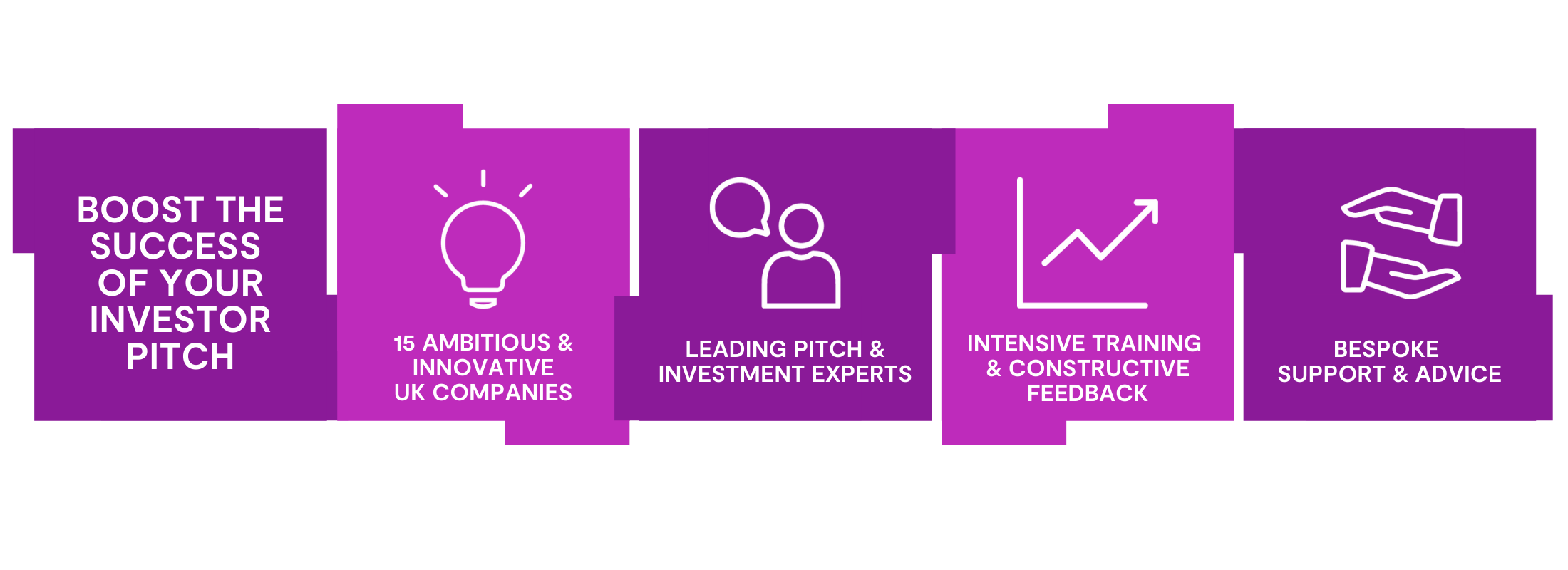 Boost the success of your investor pitch - Pitchfest graphic