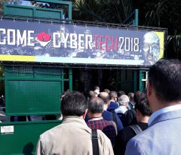 Queueing for Cybertech 2018