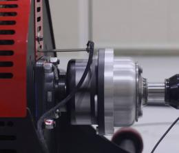 Testing automotive components on a hub dynamometer