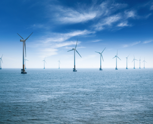 Offshore China wind